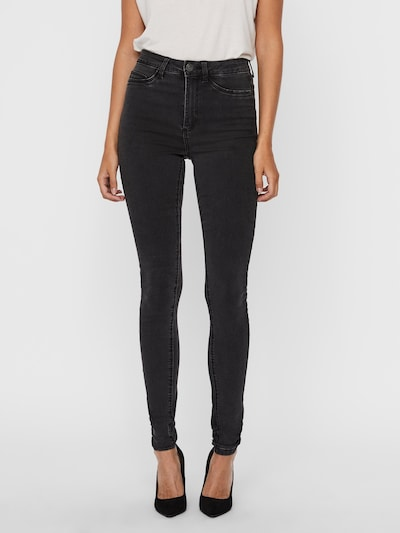 Noisy may Jeans 'NMCALLIE' in Grey denim, View model