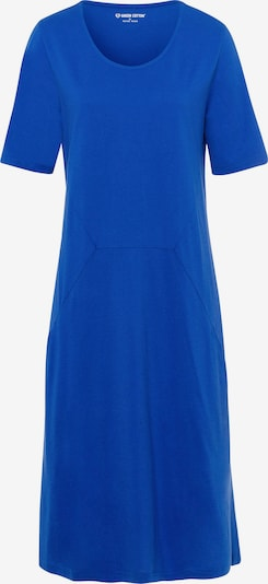 Green Cotton Jurk in de kleur Blauw / Royal blue/koningsblauw, Productweergave