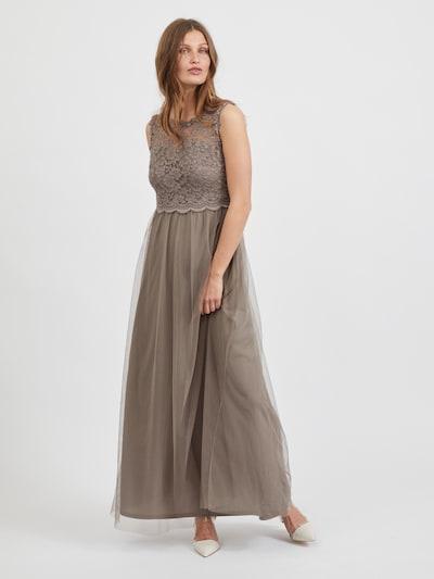 VILA Kleid 'Lynnea' in taupe, Modelansicht