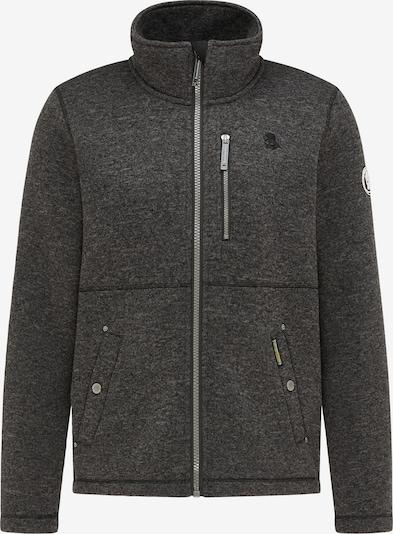 Schmuddelwedda Fleece jas in de kleur Donkergrijs, Productweergave