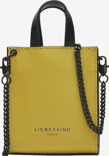 Liebeskind Berlin Handtasche aus Leder im Mini-Format in oliv, Produktansicht
