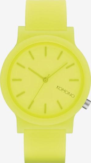 Komono Analog Watch 'Komono' in Neon yellow / Black, Item view