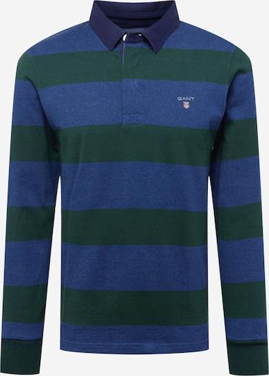 GANT Tričko - modrá melírovaná / trávovo zelená, Produkt
