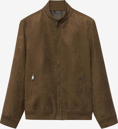 MANGO MAN Övergångsjacka 'Siena' i brun, Produktvy