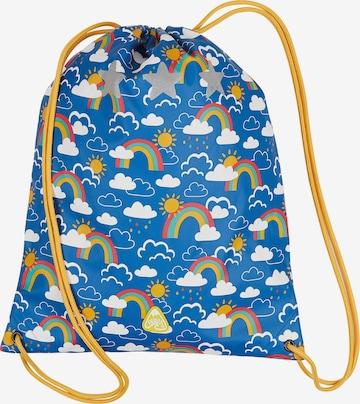 Frugi Nöörkott 'Good to Go Bag', värv sinine