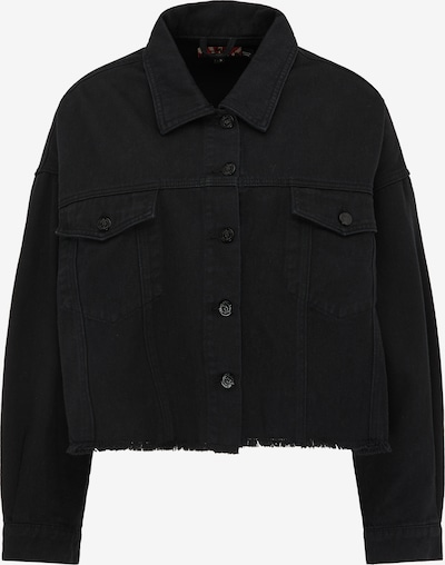 myMo ROCKS Übergangsjacke in schwarz, Produktansicht