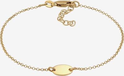 ELLI Armband Geo, Oval in gold, Produktansicht
