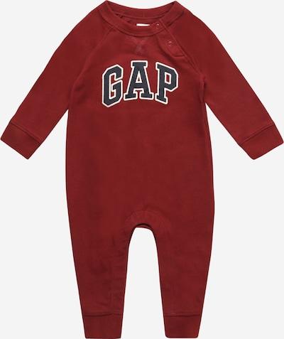 GAP Overall in de kleur Grafiet / Karmijnrood / Wit, Productweergave
