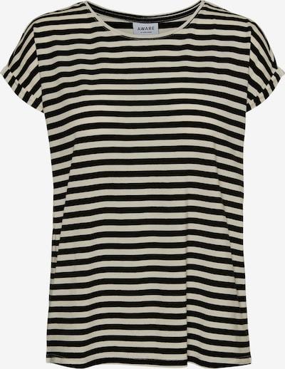 AWARE by Vero Moda T-Shirt 'VMAVA' in creme / schwarz, Produktansicht