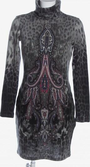 Travel Couture Langarmkleid in S in hellgrau / pink / schwarz, Produktansicht