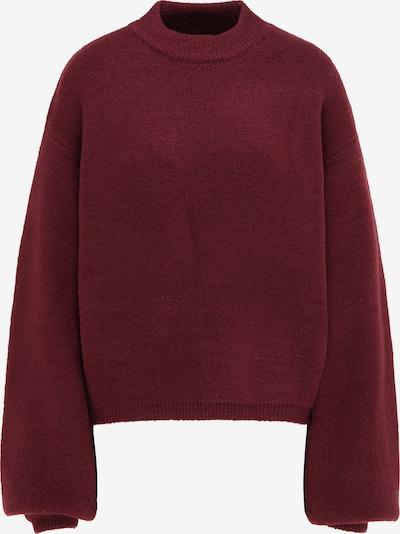 MYMO Oversized trui in de kleur Bordeaux, Productweergave