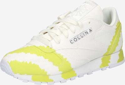 Reebok Classic Sneaker in hellblau / gelb / weiß, Produktansicht