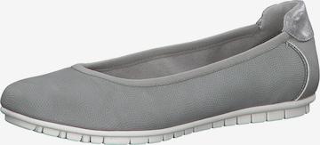 s.Oliver Ballet Flats in Grey