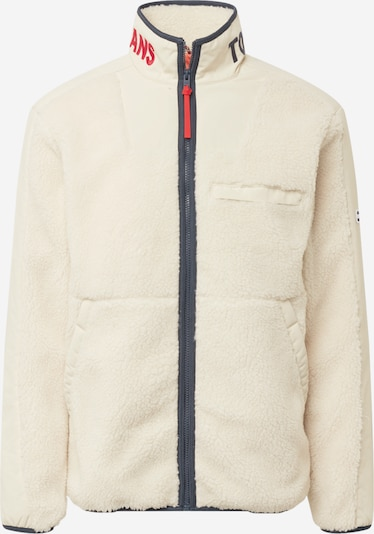 Tommy Jeans Between-season jacket in Blue / Red / Wool white, Item view