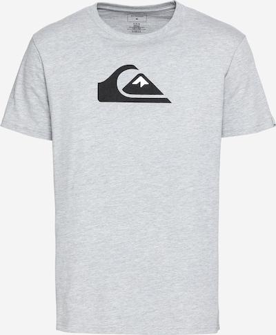 Tricou funcțional 'COMPLOGOSS' QUIKSILVER pe gri deschis / negru, Vizualizare produs
