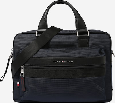TOMMY HILFIGER Bolsa para portátil en azul oscuro / negro, Vista del producto