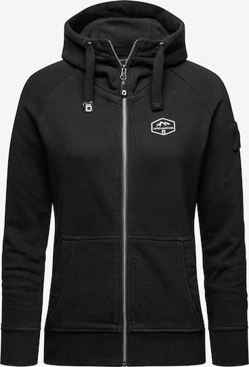 CODE-ZERO Alpes-Maritimes Zip-Sweatjacke in schwarz, Produktansicht
