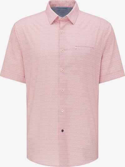 PIERRE CARDIN Overhemd 'futureflex' in de kleur Oudroze / Wit, Productweergave