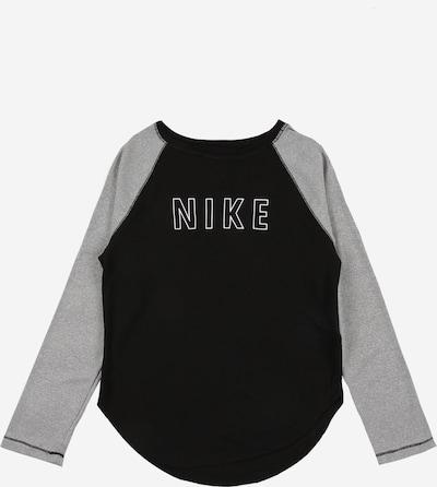 Tricou funcțional 'Trophy' NIKE pe gri / negru / alb, Vizualizare produs