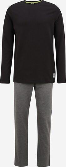 CR7 - Cristiano Ronaldo Dlhé pyžamo - sivá melírovaná / zelená / čierna, Produkt