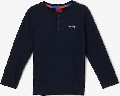 s.Oliver Shirt in marine, Produktansicht