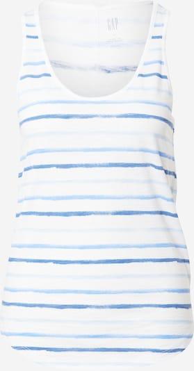 GAP Top in Azure / Sky blue / Light blue / White, Item view