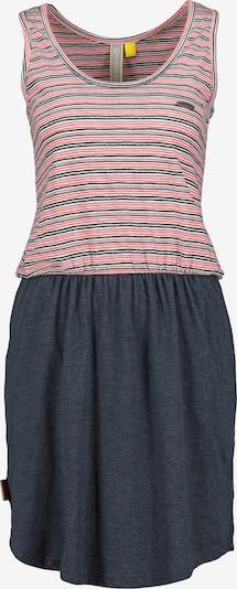 Alife and Kickin Kleid 'Rosalie' in nachtblau / hellpink / weiß, Produktansicht