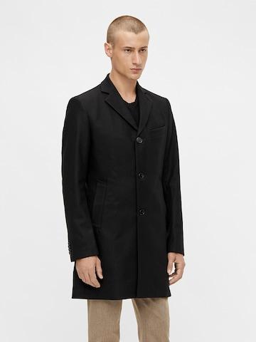 Manteau mi-saison 'Wolger Compact Melton' J.Lindeberg en noir