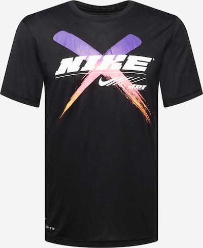 NIKE Sportshirt in lila / orange / rosa / schwarz / weiß, Produktansicht
