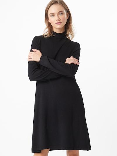 VERO MODA Adīta kleita 'Glory' melns, Modeļa skats