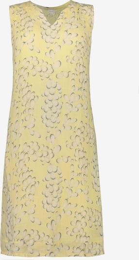 Gina Laura Kleid in pastellgelb / grau / hellgrau, Produktansicht