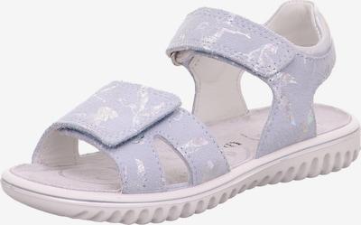 SUPERFIT Sandale 'Sparkle' in azur / silber, Produktansicht