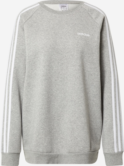 ADIDAS PERFORMANCE Sportsweatshirt in graumeliert / weiß, Produktansicht