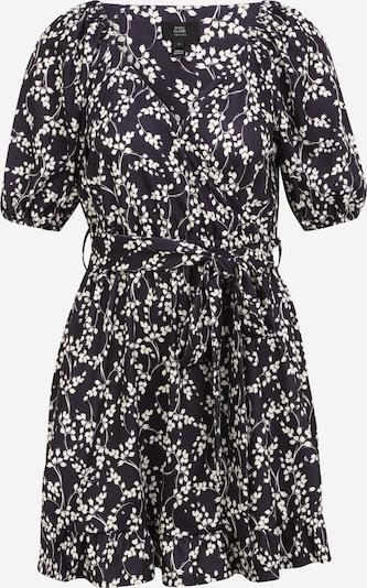 River Island Petite Kleid 'Carly' in navy / weiß, Produktansicht