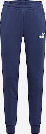Pantaloni sportivi PUMA di colore navy / bianco, Visualizzazione prodotti
