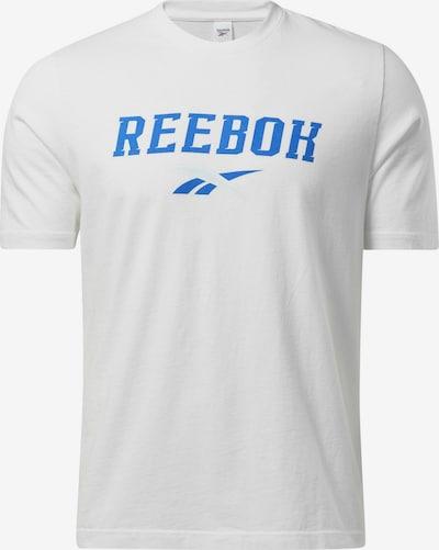 Reebok Classic T-Shirt in royalblau / weiß, Produktansicht
