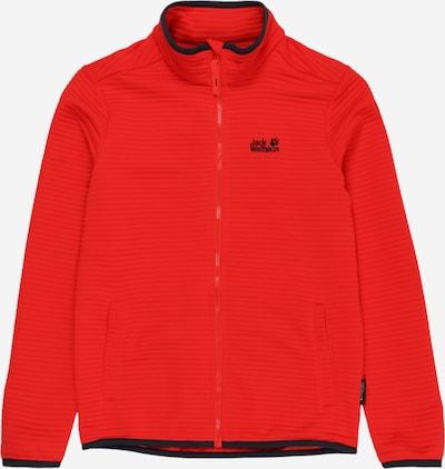 JACK WOLFSKIN Functionele fleece jas 'Modesto' in de kleur Rood / Zwart, Productweergave
