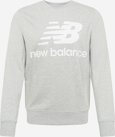 new balance Sportisks džemperis pelēks / balts, Preces skats