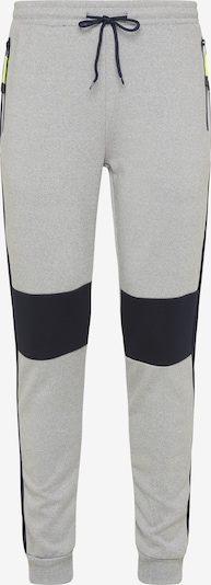 Mo SPORTS Trousers in night blue / grey mottled, Item view