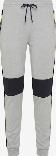 Pantaloni Mo SPORTS di colore blu notte / grigio sfumato, Visualizzazione prodotti