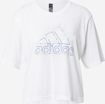 ADIDAS PERFORMANCE Funksjonsskjorte i hvit