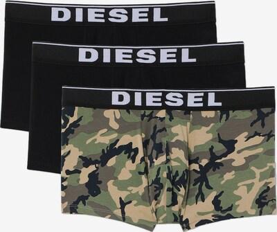 DIESEL Boxershorts in hellbeige / nachtblau / oliv / apfel / schwarz, Produktansicht