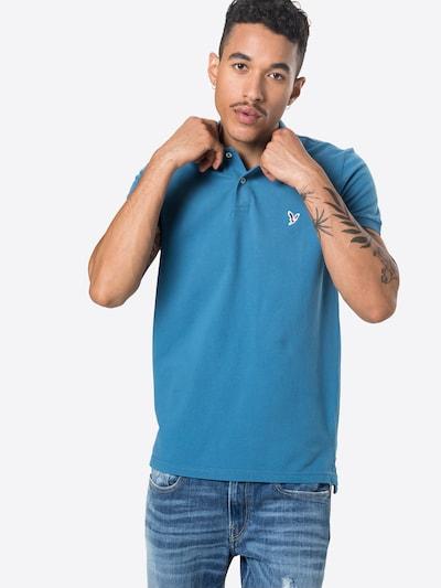 American Eagle T-Shirt en bleu ciel / marron / blanc: Vue de face