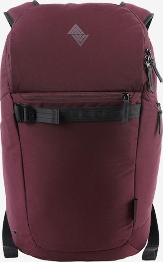 NitroBags Rugzak 'Nikuro' in de kleur Wijnrood, Productweergave