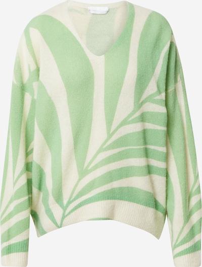 BOSS Casual Pullover in beige / hellgrün, Produktansicht