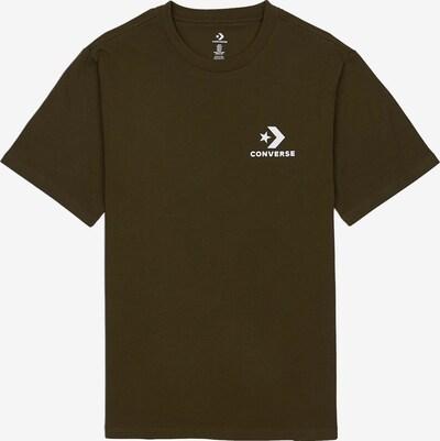 CONVERSE T-Shirt in khaki, Produktansicht