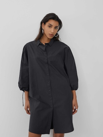 LeGer by Lena Gercke Košeľové šaty 'Flora' - Čierna