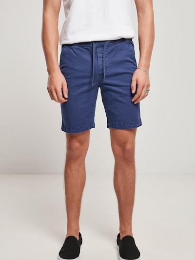 Pantaloni Urban Classics pe albastru închis, Vizualizare model