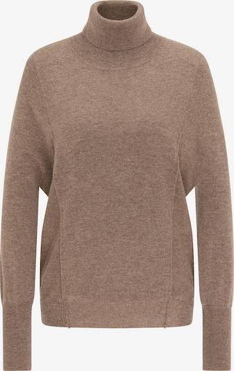 DreiMaster Klassik Pullover in braun, Produktansicht