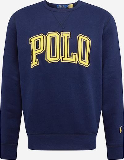 POLO RALPH LAUREN Sweatshirt in navy / hellgelb, Produktansicht